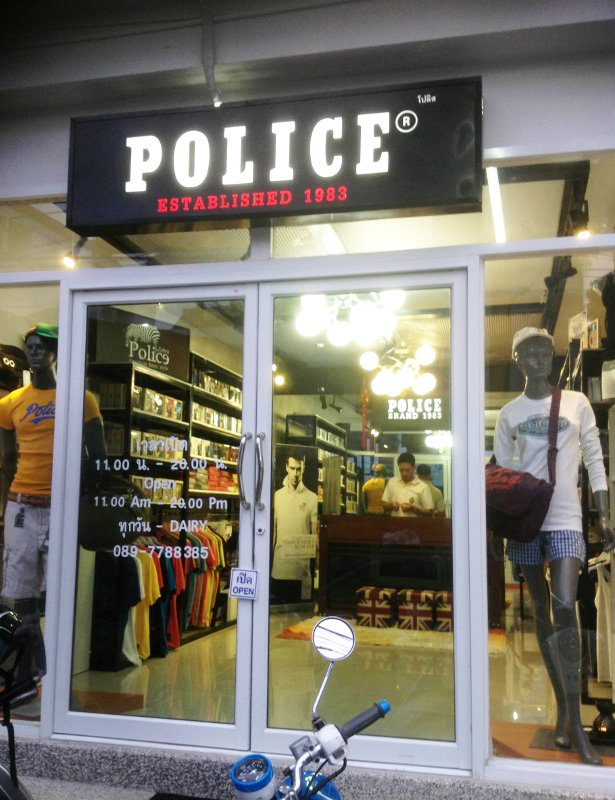 Police Brand Shop Chiang Mai
